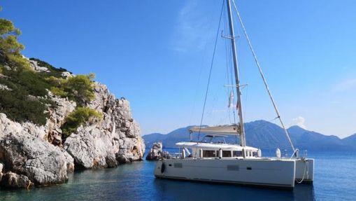 Croisière catamaran au départ d'Athènes