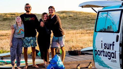 Surfcamp en camping tout confort à côté de Porto