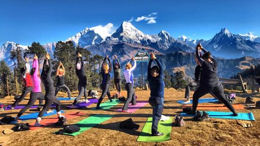 Trek et Yoga au pied de l'Everest