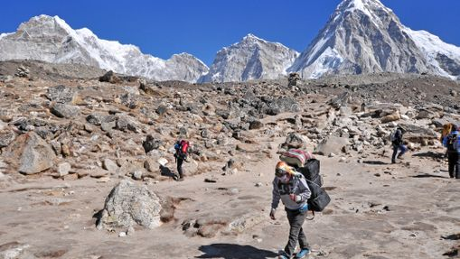 Camp de base de l'everest - séjour en groupe