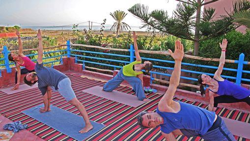 Retraite Yoga au pied de l'océan au Maroc