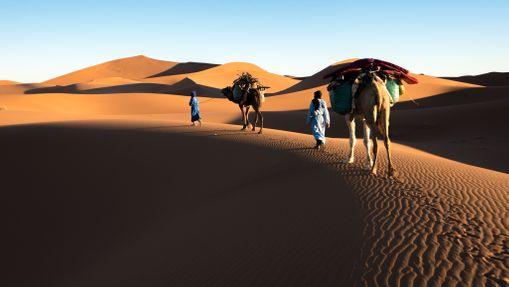 Au coeur du Sahara