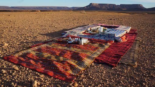 Trek désert en vallée du Drâa - séjour privatisé