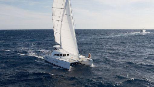 Croisière Côte d'Azur sur catamaran Lagoon 380