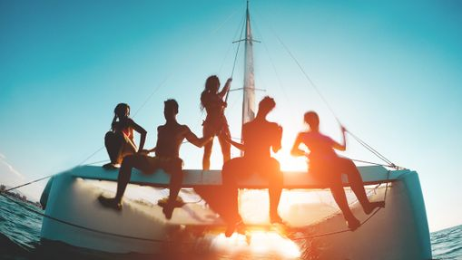 Croisière privée en Corse du Sud - catamaran 38'