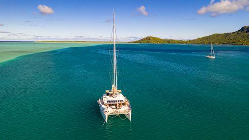 Croisière privée Tahiti - Tuamotu - catamaran 46'