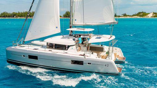 Croisière privée dans les Cyclades - catamaran 42'