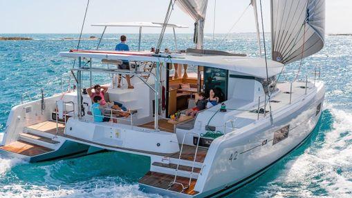 Croisière privée Îles Saroniques - catamaran 42'