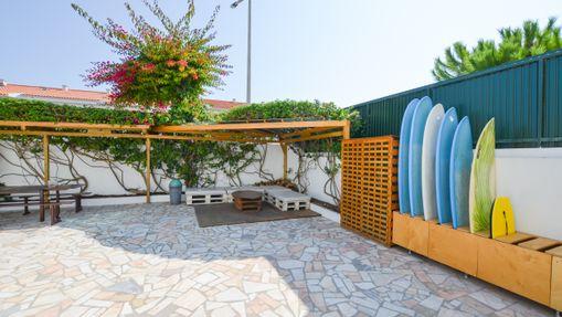 Surf house confortable en bord de plage à Peniche