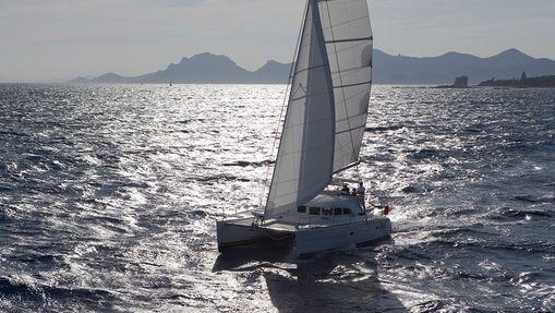 Croisière privée Côte d'Azur - catamaran 38'
