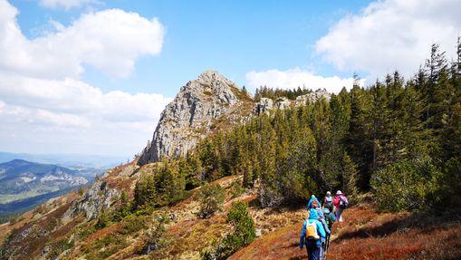 Rando en liberté au coeur des volcans d'Ardèche