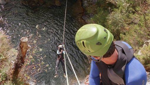 Journée Canyoning et Via Ferrata à Chamonix-1