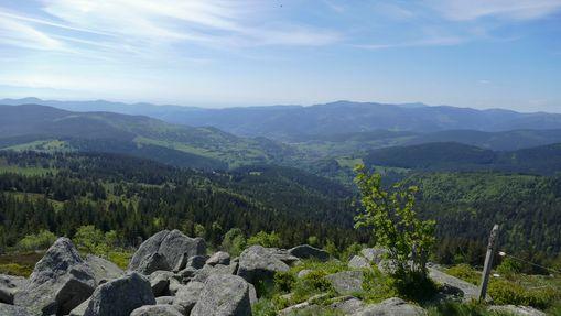 Panorama sur le Massif des Vosges