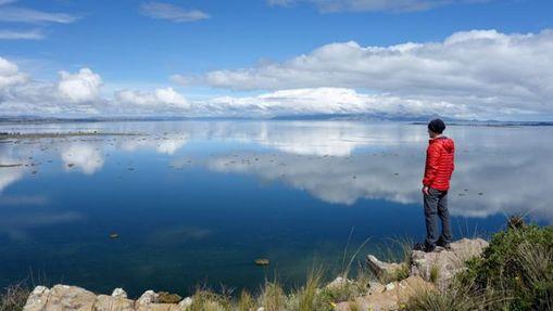 Trek sur la partie mineur du lac Titicaca