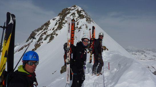 Traversée de l'Albaron à ski-6