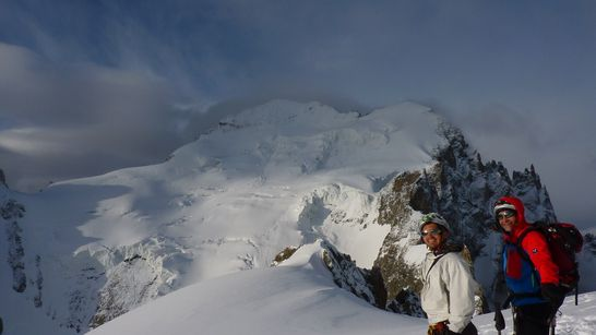 Roche Faurio en ski de randonnée (Ecrins)-2