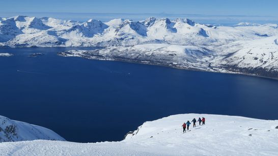 Ski de randonnée en Laponie Norvégienne-1