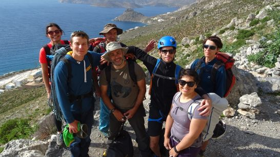 Stage sur les sublimes falaises de Kalymnos