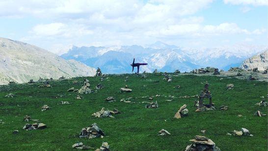 Escalade et yoga en Pays des Ecrins