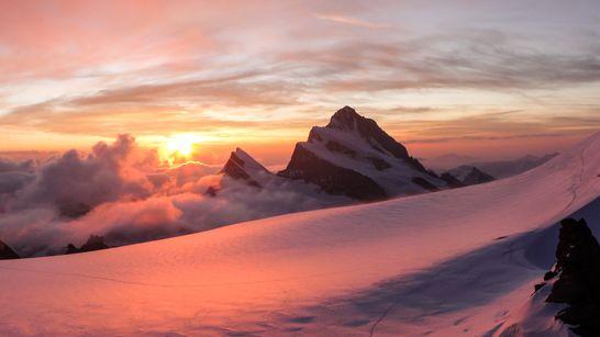 Traversée des 4000 m du Mont Rose