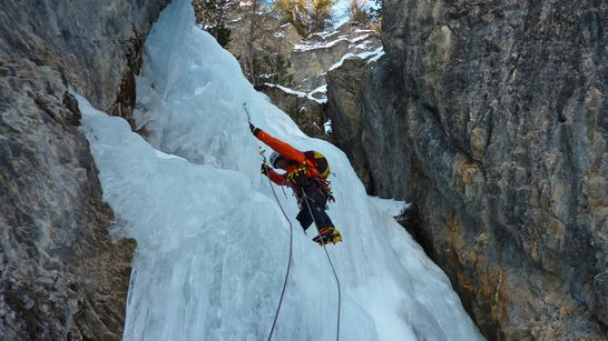 Week-end de cascade de glace  - Hautes-Alpes-3