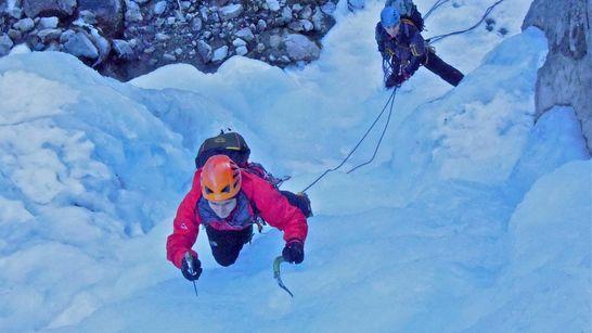 Quatre jours cascade de glace - Hautes-Alpes-3