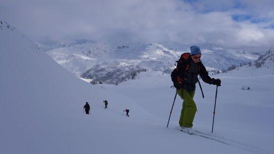 Initiation au ski de randonnée dans les Cerces-1