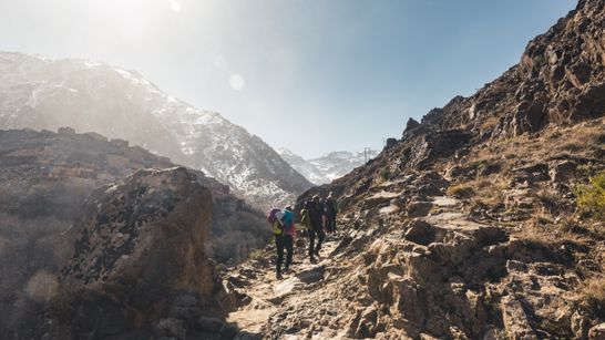 Ascension du Toubkal & Trek dans le Haut-Atlas