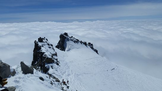 Ascension du Grand Paradis (4061 m) à ski de rando-1