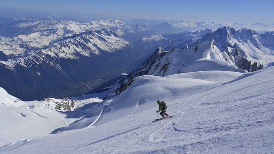 Le Mont-Blanc en ski de randonnée-1