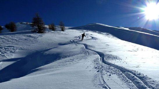Montée à ski de rando