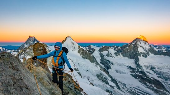 Stage d'initiation à l'alpinisme à Orny