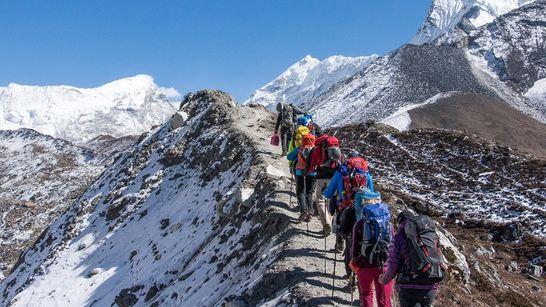 Trek et ascension de l'Island Peak (6 189 m)