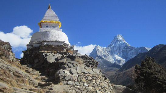 Le camp de base de l'Everest