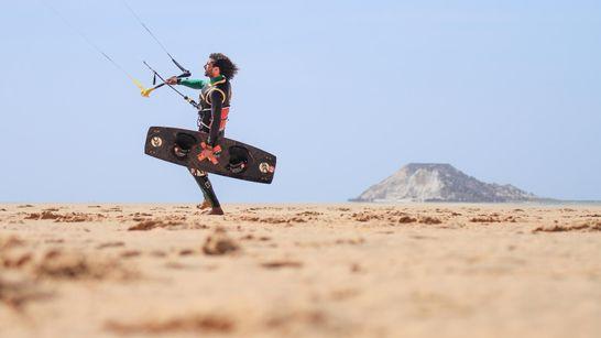 Séjour kitesurf autonome sur la lagune à Dakhla