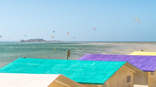 Stage Kitesurf grand luxe dans la lagune de Dakhla