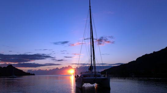 Croisière privée Tahiti - Bora - catamaran 41'