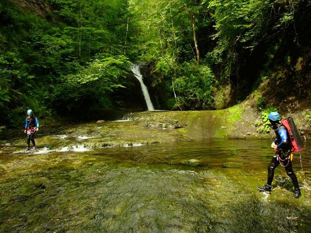 Le canyon de l'Aspre version gourmande-2