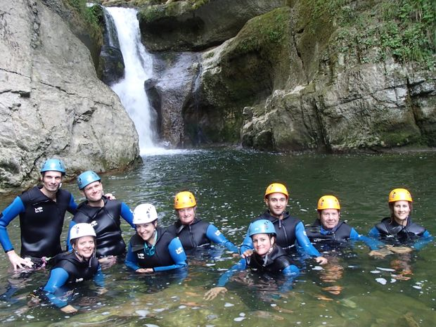 Canyoning Découverte - Jura-1