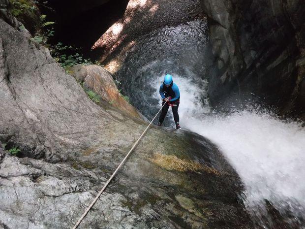 Descente sportive du Canyon du Bitet Inférieur-5