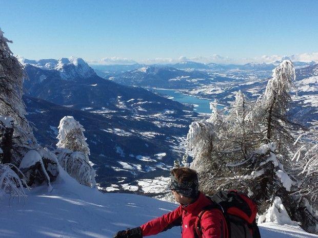 Week end raquettes dans les Alpes du Sud-3
