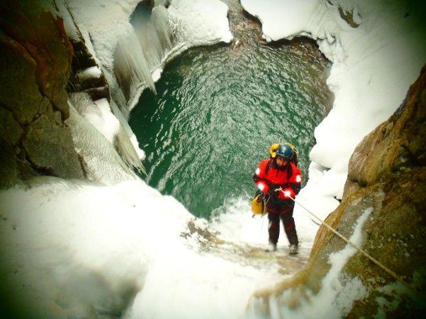 Sortie hivernale & sportive : le Canyon de Gourzy -2