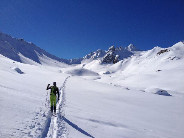 Stage ski de randonnée dans le beaufortain-5