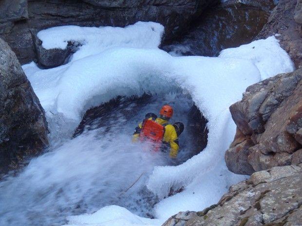 Journée Canyoning Hivernal  Hautes Pyrénées-3