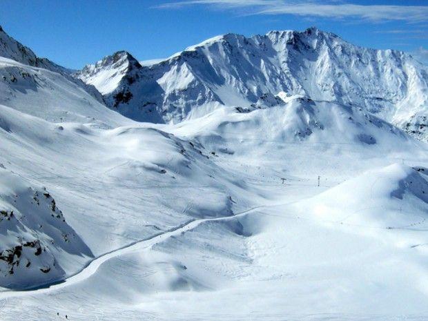 Ski hors piste aux Arcs-2