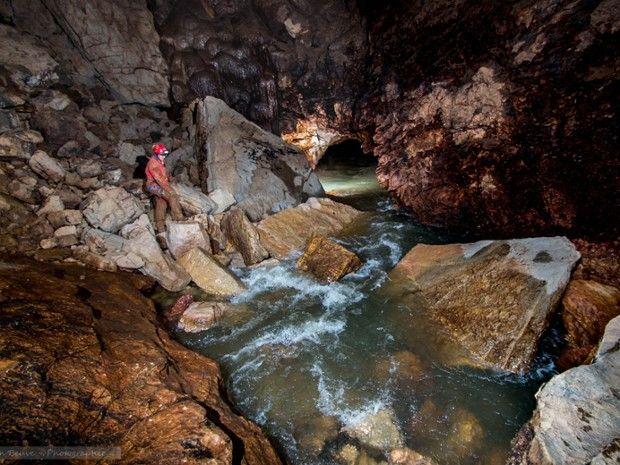 Exploration du Réseau de l'Ouysse Souterrain-1
