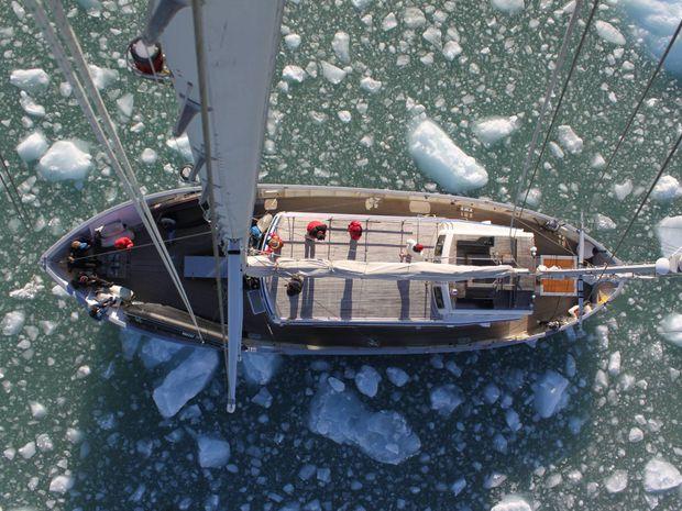 Ski de rando en Norvège à bord d'un voilier-13