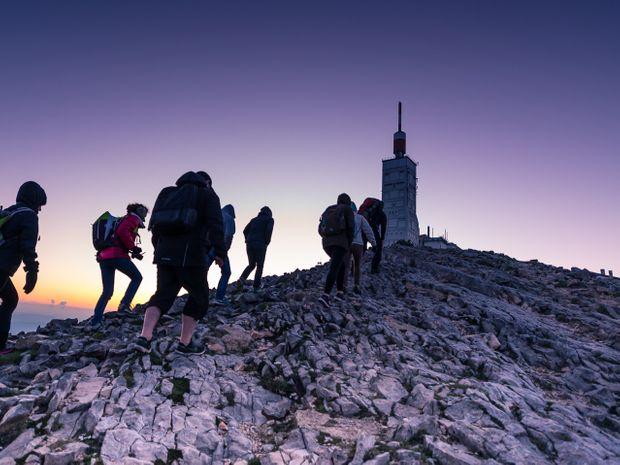 Lever de soleil au sommet du Mont Ventoux-9