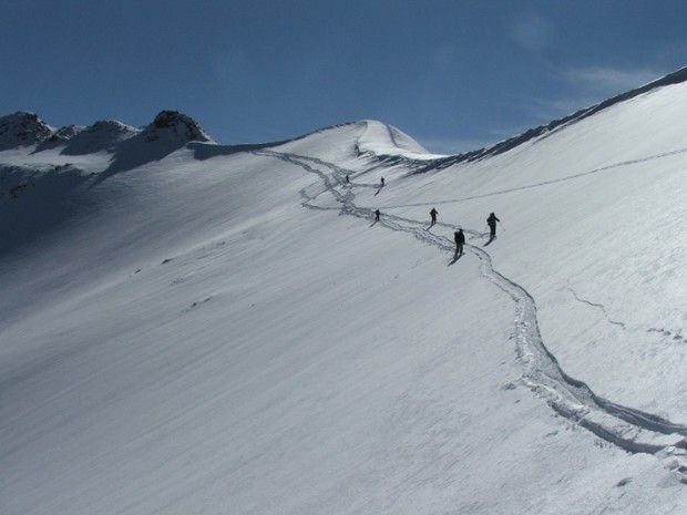 Pologne, massif des Tatras en ski de randonnée-4