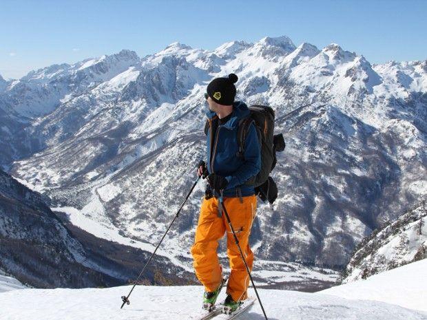 Ski de randonnée an Albanie-7
